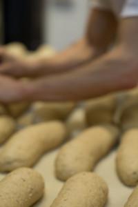Brötchebacken in der Bäckerei Olaf Müller