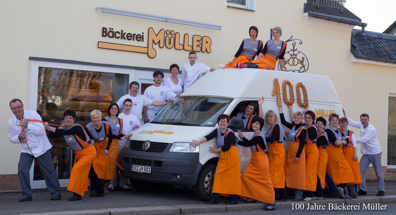 100 Jahre Bäckerei Olaf Müller 2013