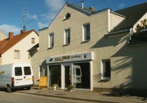 Hauptgeschäft Bäckerei Olaf Müller in Lugau, Seite Standorte